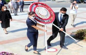 Muğla'da İlköğretim Haftası Sade Bir Törenle Kutlandı