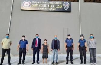 Muğla'da Şehit Polisin Adı Ek Hizmet Binasına Verildi