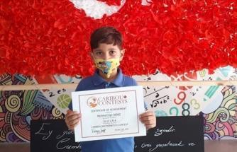 8 Yaşındaki Mehmet Yiğit Matematikte Dünya Birincisi Oldu