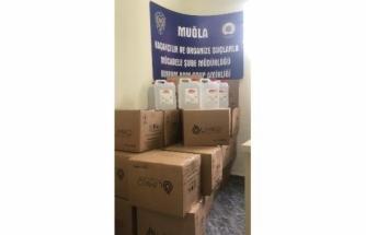 Bodrum'da Bir Eczaneden 545 Litre Etil Alkol Çıktı