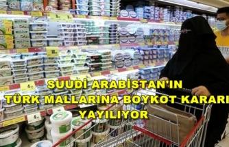 Boykota Suudi Arabistan'ın En Büyük Süpermarket Zinciri de Katıldı