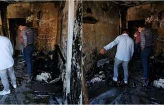 Dalaman'daki Bir Apartmanda Yangın Çıktı!