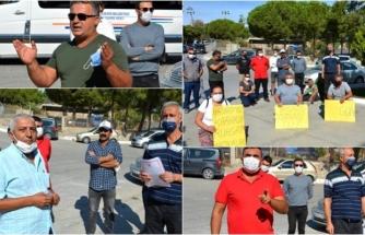 Datça Belediyesi Önündeki Oturma Eylemi Devam Ediyor