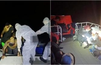 Marmaris ve Datça Açıklarında 37 Kaçak Göçmen Kurtarıldı