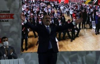 MHP Muğla İl Kongresinde Mehmet Korkmaz Güven Tazeledi