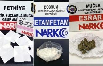 Muğla'da 5 Ayrı Narkotik Operasyonunda 2 Tutuklama