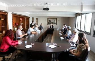 Başkan Mehmet Oktay'ın, Tarımsal Kalkınma Projesi İçin İmzalar Atıldı