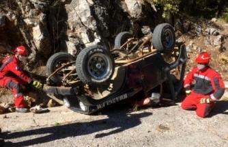 Fethiye Trafik Kazası: Takla Atan Aracın Sürücüsü Vefat Etti!