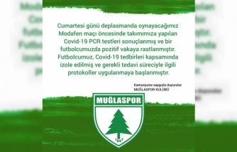 Muğlaspor'da Korona Virüs Vakası !