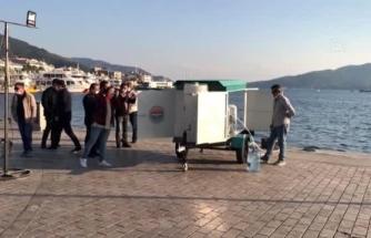"""Marmaris'te """"Acil Durum Deniz Suyu Arıtma Sistemi"""" Devreye Alındı"""