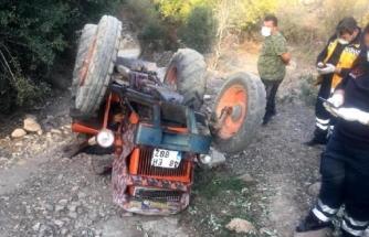 Milas'ta Kahreden Kaza: Karı Koca Devrilen Traktörün Altında Kaldı!