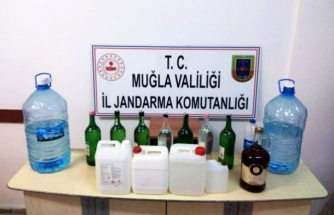 Muğla'da Operasyon: 361 Litre Sahte İçki Ele Geçirildi