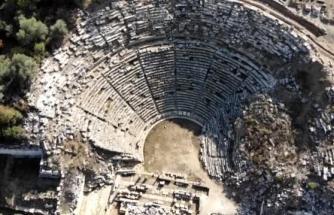 """Özel Turlarla Yatağan'daki """"Gladyatörler Şehri""""ni Görmeye Geliyorlar"""