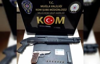 70 Ayrı Suç Kaydı Bulunan Şahıs, Milas'ta Özel Harekat Destekli Operasyon İle Yakalandı