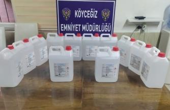 Köyceğiz'de 60 Litre Etil Alkol Ele Geçirildi