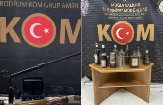 Muğla'da Sahte İçki ve Kaçakçılık Operasyonunda 24 Şüpheliye Adli İşlem