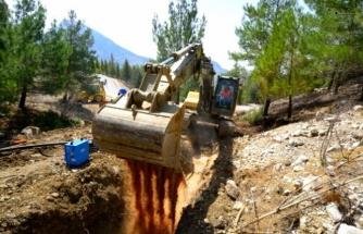 Seydikemer'de İçme Suyu Sorunları Çözülüyor