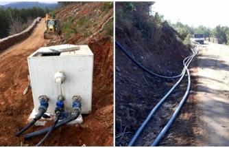 Yatağan'da İçme Suyu Hat Çalışmaları Devam Ediyor