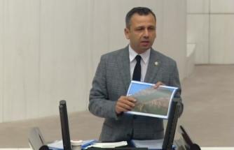 CHP'li Erbay Sandras Dağı'ndaki Doğa Katliamını Gündemden Düşürmüyor