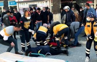 Fethiye'de Yayaya Çarpan Motosiklet Sürücü Hayatını Kaybetti
