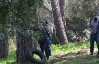 Muğla'da Kendisini Ağaca İple Asan Adam Son Anda Kurtarıldı