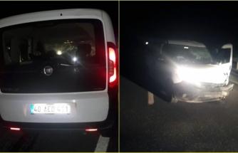 Yatağan'da Kaza Yapan Sürücü Aracı Bırakıp Kaçtı
