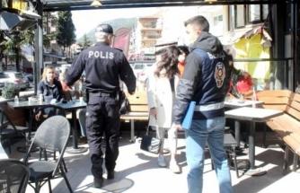Menteşe'de Polis ve Bekçiler Yeni Açılan İşletmeleri Denetledi