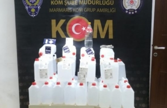 Muğla'da Sahte İçki ve Kaçakçılık Operasyonunda 4 Zanlı Tutuklandı