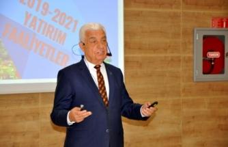 Başkan Gürün'den 'Halka Hesap Verme' Toplantısı