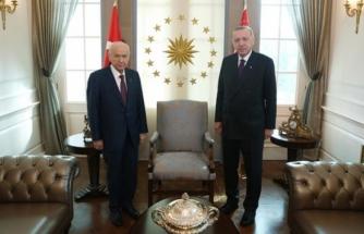 Cumhurbaşkanı Erdoğan ile Bahçeli'nin Kritik Görüşmesi Sona Erdi! Masada 4 Konu Vardı