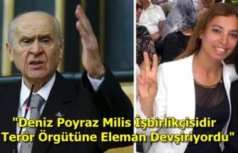 Bahçeli'den HDP Binasına Yapılan Saldırıda Öldürülen Deniz Poyraz İçin İddialı Sözler!