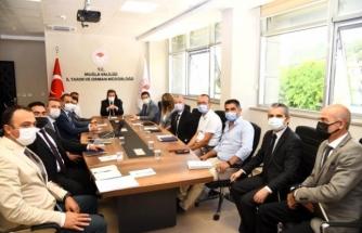 Başarılı Çalışmalar İmza Atan Tarım İl Müdürlüğü, Vali Tavlı'yı Ağırladı