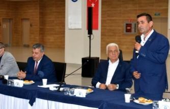 Başkan Osman Gürün, Seydikemer Muhtarları İle Buluştu