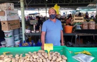 Datça'da Patates Üreticisi Dertli
