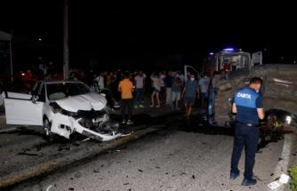 Fethiye'de İki Otomobilin Çarpıştığı Kazada Yaralanan Sürücü, Hastanede Hayatını Kaybetti