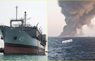 İran'ın En Büyük Savaş Gemisi 'Hark' Çıkan Yangın Sonucu Battı