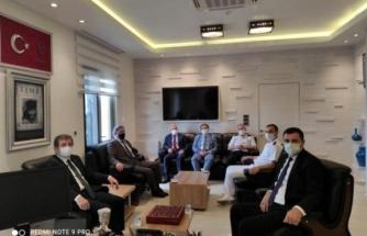 Vali Orhan Tavlı'dan Bodrum Cumhuriyet Başsavcısı Şükrü Arslan'a Ziyaret
