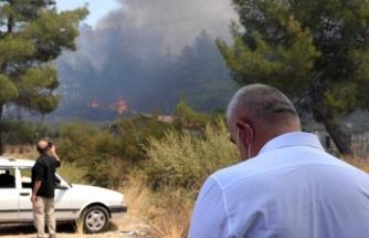 Bakan Ersoy, Marmaris'te Yangın Bölgesinde
