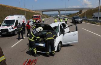 Bayram Tatili Dönüşünde Feci Kaza: 1'i Ağır 5 Yaralı!
