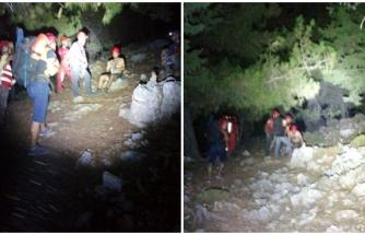 Fethiye'de Kayalıklarda Mahsur Kalan 2 Kişi Kurtarıldı
