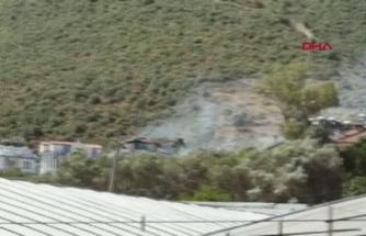 Fethiye'de Yerleşim Yerinde Yangın Çıktı