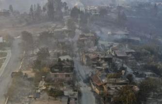 Manavgat Yangınının Tahribatı Gün Ağarınca Ortaya Çıktı!