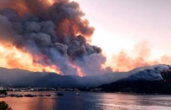 Milas ve Bodrum İlçelerindeki Yangınlar Kontrol Altına Alındı
