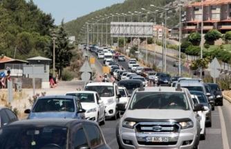 Muğla'nın Turistik İlçelerine Giriş Yapan Araç Sayısı Belli Oldu