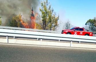 Ortaca'da Ormanlık Alanda Çıkan Yangın Kontrol Altına Alındı