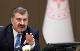 """Sağlık Bakanı Koca'dan Uyarı: """"Yarın Daha Yüksek Bir Sayıyla Karşılaşacağız"""""""