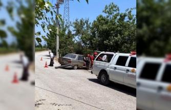 Seydikemer'de Trafik Kazası
