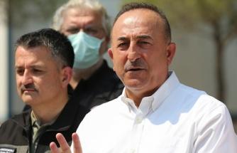 """Çavuşoğlu: """"Manavgat Valiliği Yangın İçin Hesap Açacak, Milletimiz Cömerttir"""""""