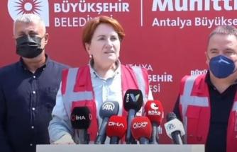 İYİ Parti Genel Başkanı Meral Akşener: Ormanları Yakanlar Terör Üyeliği İle Yargılansın