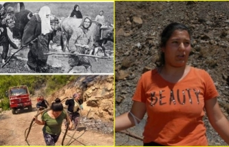 """Köyceğiz Yangının Sembolü Olan Genç Kız: """"Zaman Değişse de Kadınlarımız Hiç Değişmedi!"""""""